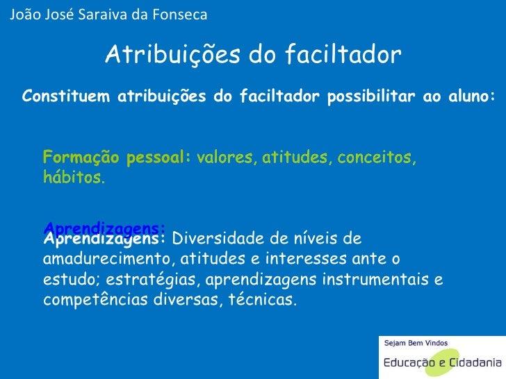 Aprendizagens:  Diversidade de níveis de amadurecimento, atitudes e interesses ante o estudo; estratégias, aprendizagens i...