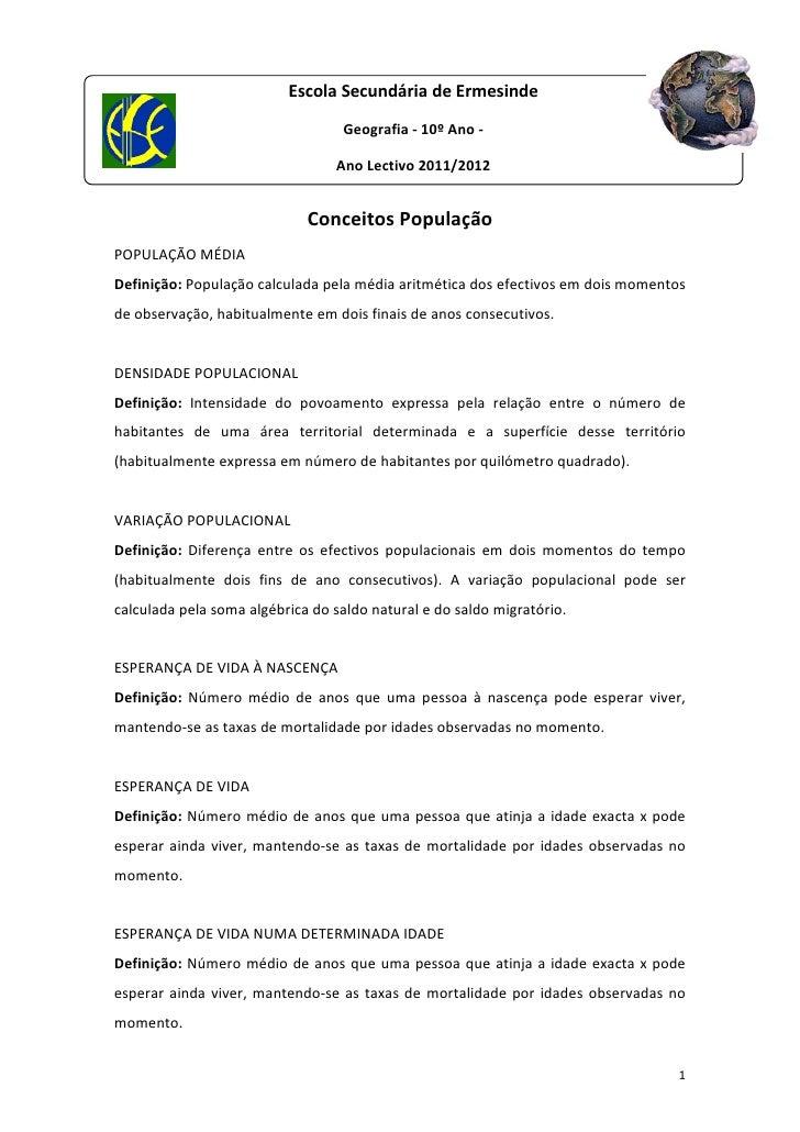 EscolaSecundáriadeErmesinde                                     Geografia‐10ºAno‐                              ...