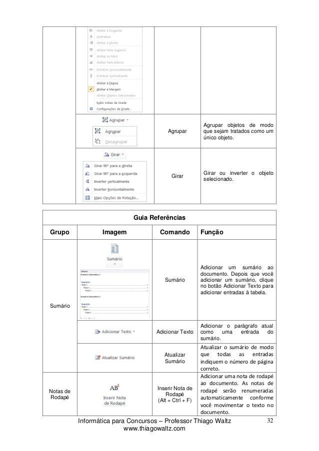 inserir numero de paginas word 2010