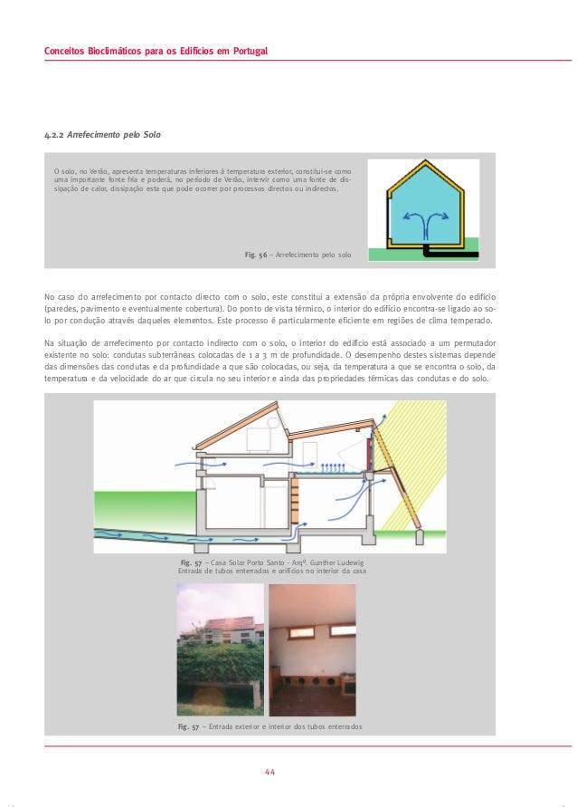 Conceitos bioclim ticos para os edificios em portugal for Contacto para exterior