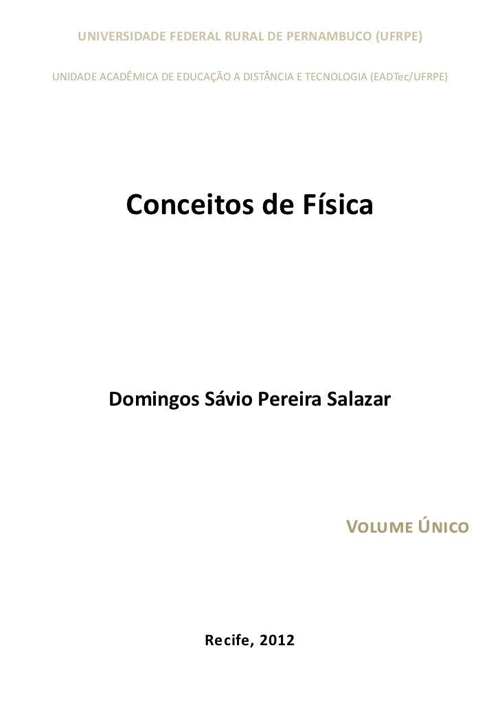 UNIVERSIDADE FEDERAL RURAL DE PERNAMBUCO (UFRPE)UNIDADE ACADÊMICA DE EDUCAÇÃO A DISTÂNCIA E TECNOLOGIA (EADTec/UFRPE)     ...