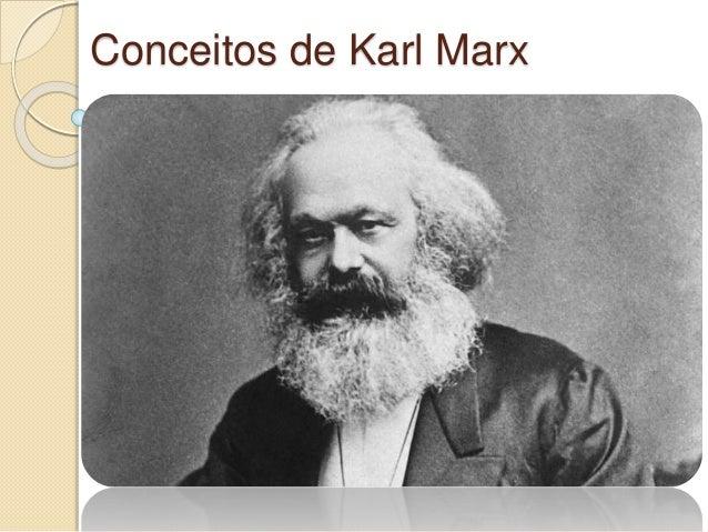 Conceitos de Karl Marx