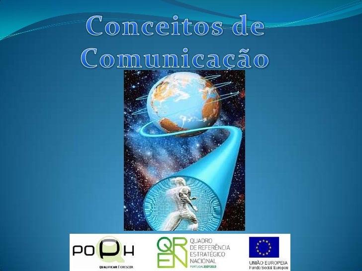 Conceitos de Comunicação<br />