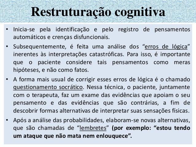 2. Registro de Mudança de Pensamento SITUAÇÃO PENSAMENTO AUTOMÁTICO EMOÇÃO RESPOSTA RACIONAL RESULTADO Descrever evento, f...
