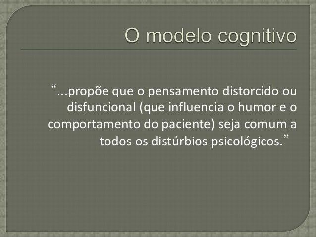 Conceitualização em Terapia Cognitiva Slide 2