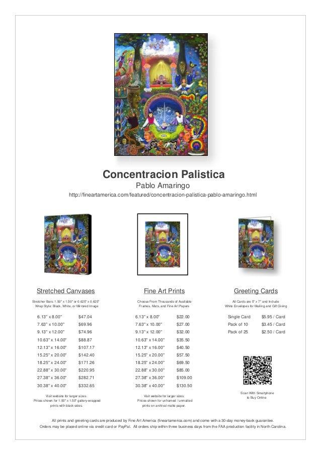 Concentracion Palistica                                                               Pablo Amaringo                      ...
