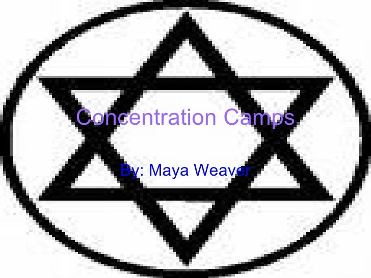 Concentration Camps By: Maya Weaver