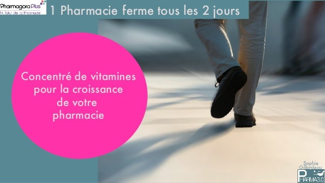 Sophie Gillardeau 1 Pharmacie ferme tous les 2 jours Concentré de vitamines pour la croissance de votre pharmacie