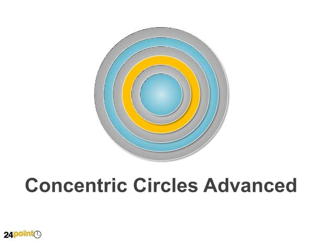 Concentric Circles  Insert text