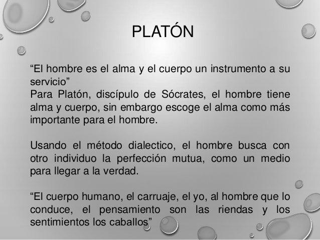 """ARISTOTELESDiscípulo de Platón, considera que: """"La unión entre elcuerpo y alma es fundamental""""Inicia, a través de sus pens..."""