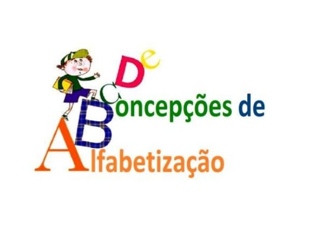 OBJETIVOS • Refletir sobre as concepções de alfabetização no contexto histórico- brasileiro e suas implicações pedagógicas...
