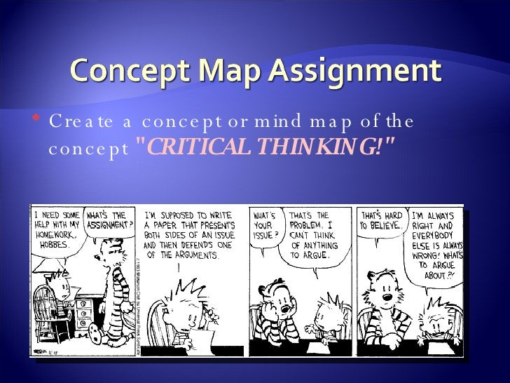 main concept of critical thinking