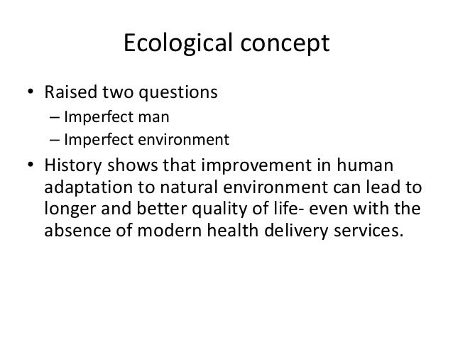 Psychosocial concept • Development in social science – Health is not only a biomedical phenomenon, but it is influenced by...