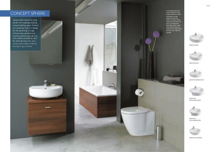 Bathroom Suites Ideal Standard Ireland Concept Brochure 2011