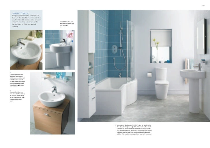 Bathroom Suites - Ideal Standard Ireland - Concept brochure 2011