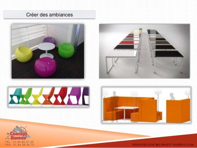 Concept bureau plaquette space planning et mobilier de for Concept bureau