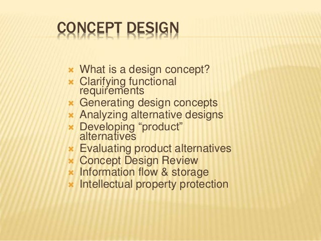 Concept design for What is design concept in architecture