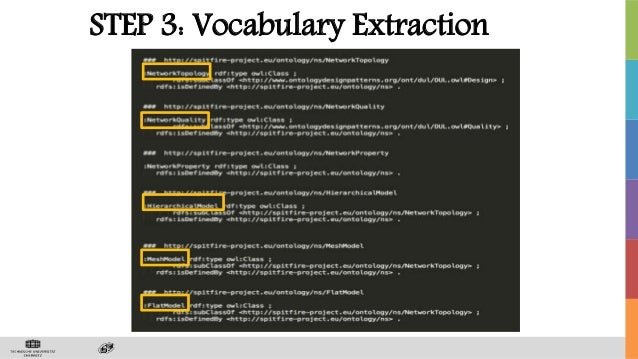 STEP 3: Vocabulary Extraction