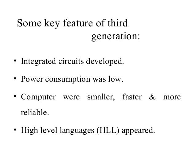 concept   generation of computers