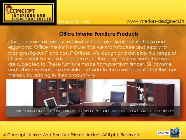 Office Furniture Suppliers In Bangalore