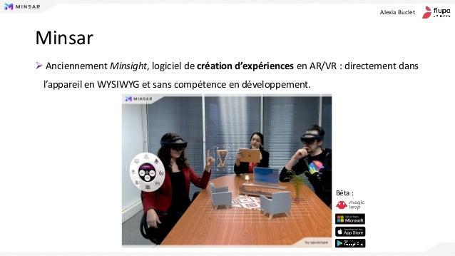 Conception d'interfaces immersives pour la réalité virtuelle et augmentée - Alexia Buclet Slide 3