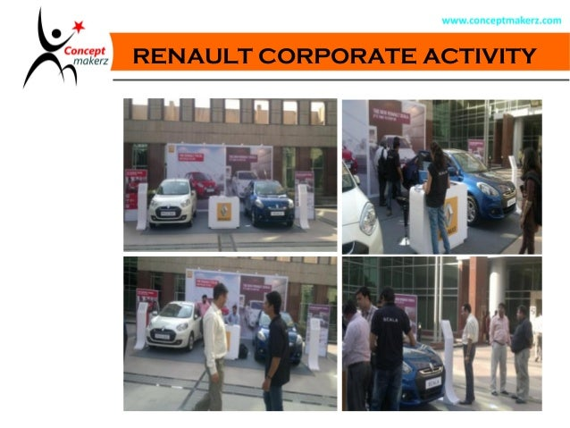 RENAULT CORPORATE ACTIVITY