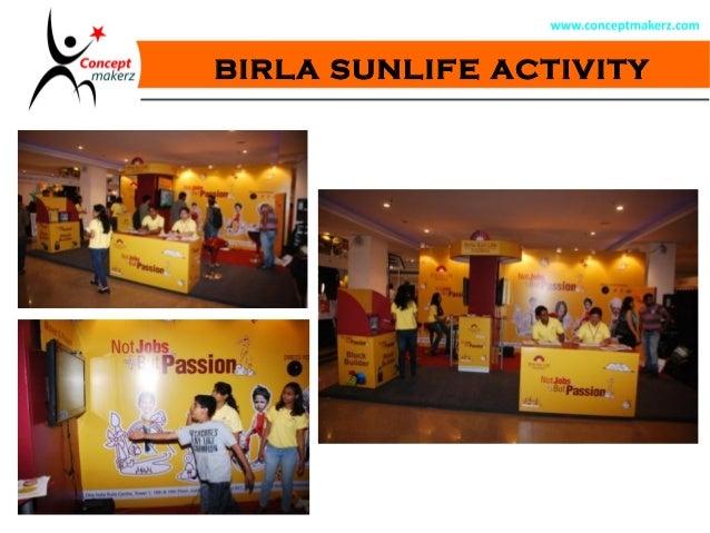BIRLA SUNLIFE ACTIVITY