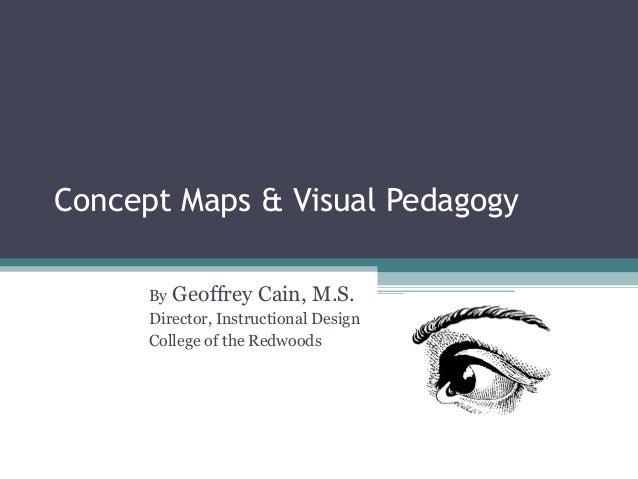 Concept Maps & Visual Pedagogy By  Geoffrey Cain, M.S. Director, Instructional Design College of the Redwoods