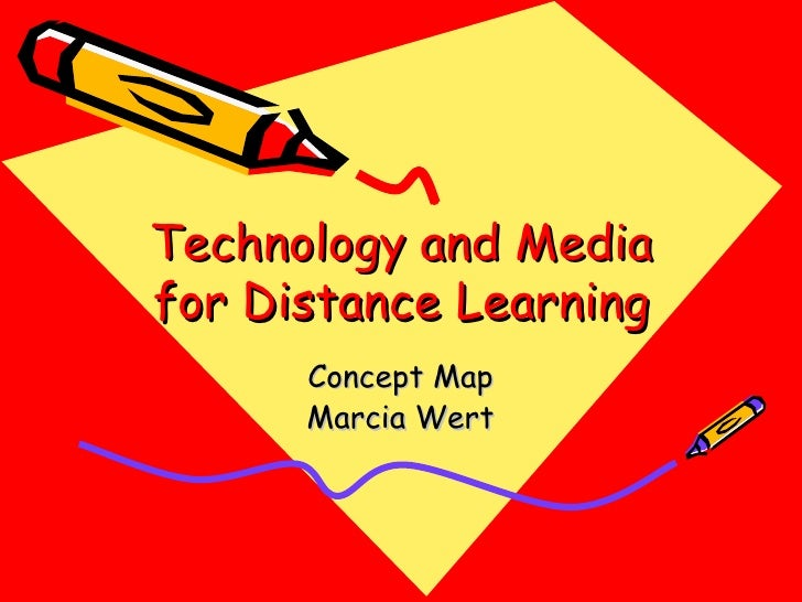 Technology and Media for Distance Learning Concept Map Marcia Wert