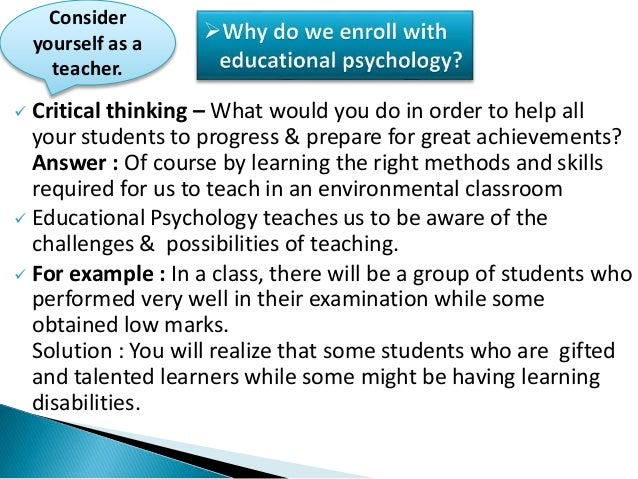 Concept & meaning of educational psychology