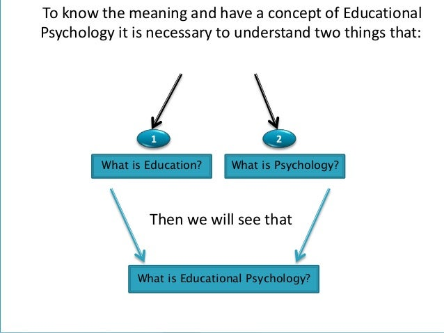 educational psychology essays Free essay: this is a method where you split the class into learning groups to learn about a particular aspect of a general topic once the children master.