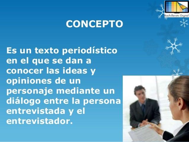 Concepto y características de la entrevista Slide 2