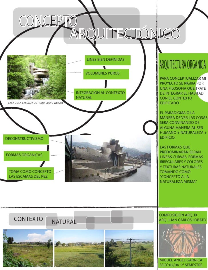 Concepto arquitect nico for Conceptualizacion de la arquitectura