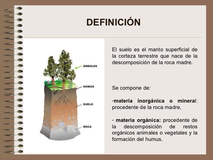 Concepto basico de suelos for Significado de suelo