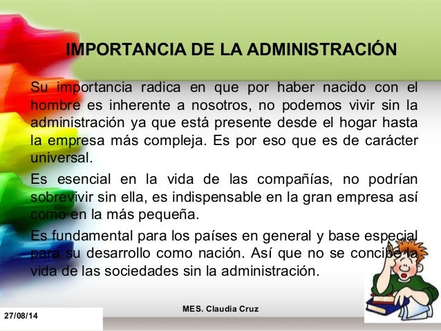 Administraci n educativa for Importancia de la oficina