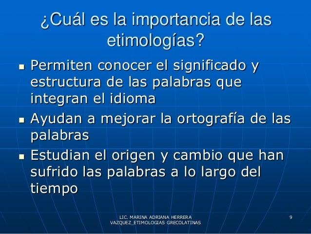 Concepto de etimologias 2010 for Importancia de los viveros forestales