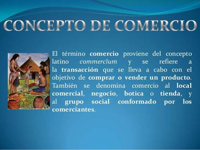 Concepto de historia del comercio for Comercio exterior que es