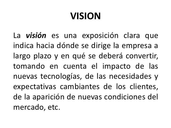 Concepto de mision y vision Slide 3