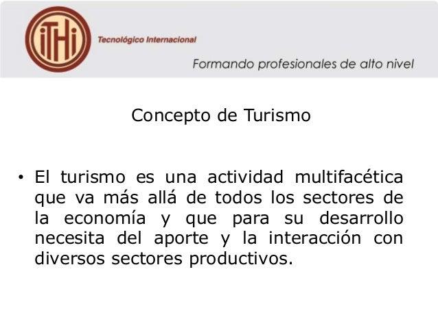 Concepto Concepto De De Concepto Concepto Concepto Turismo De De Turismo Turismo Turismo De