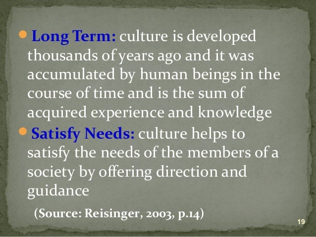 culture as a concept of anthropology The application of biological ecology to cultural anthropology adds a new, scientific perspective to the discipline  the ecosystem concept in anthropology .