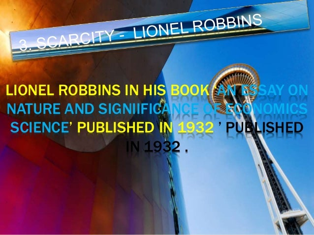 Father by son – Lionel Robbins by Richard Robbins