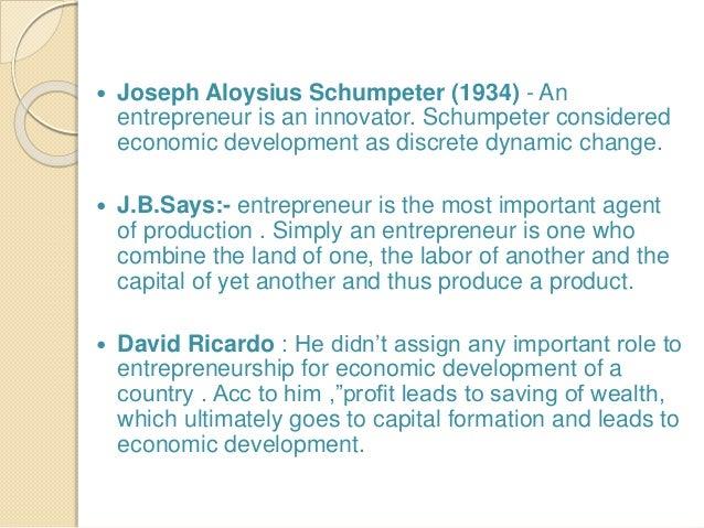 The concept of entrepreneurship - Essay Example