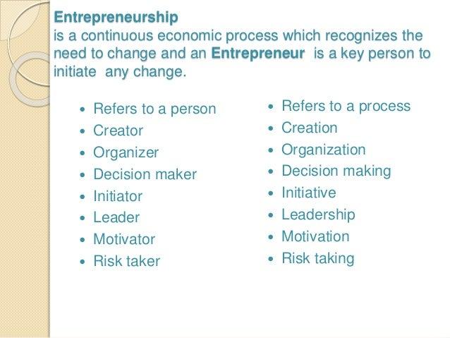 concept of entrepreneurship development
