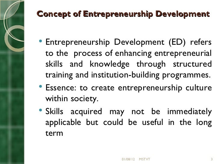 role of entrepreneurship in the creative industries Research on entrepreneurship within the creative industries: creative industries and entrepreneurship the role of structure and agency in organizational and.
