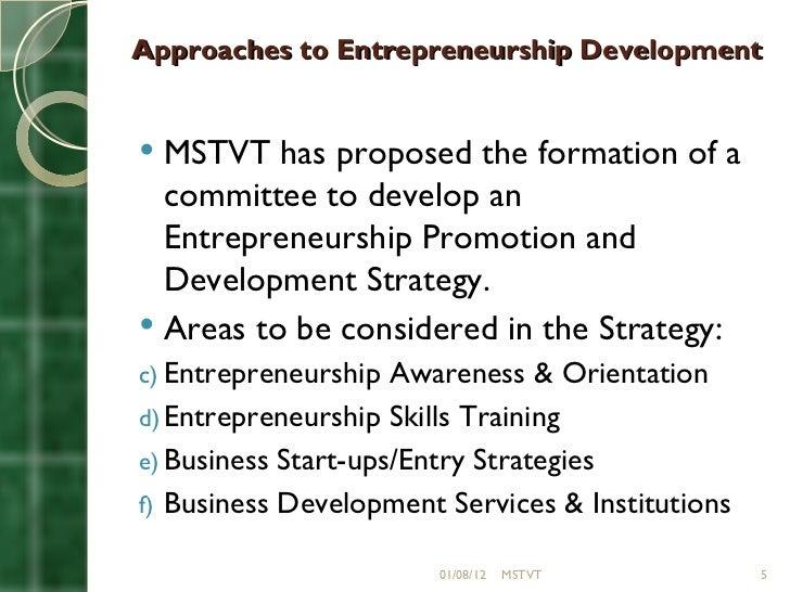 concept of entrepreneurship development pdf