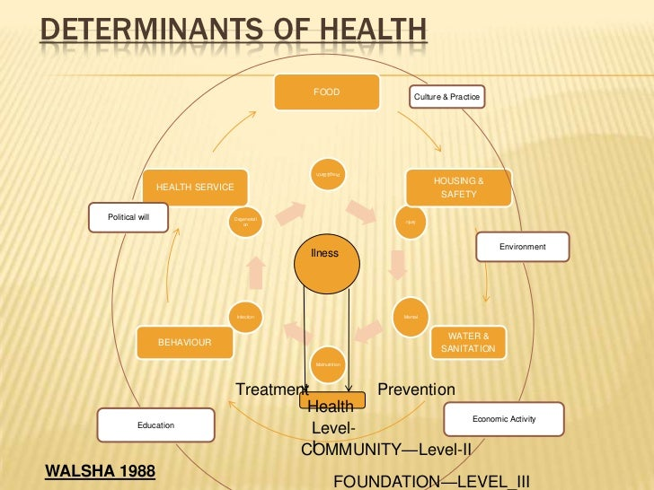 social factors affecting health and illness