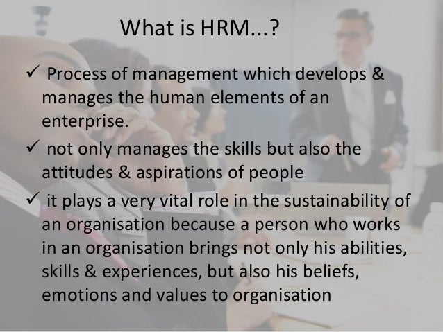 concepts of human resource management Human resource management: the key concepts is a concise, current and jargon free guide that covers the main practices and theories that con stitute human resource management (hrm.