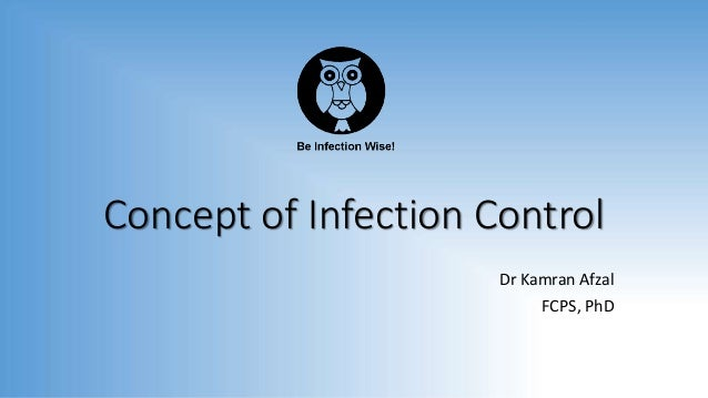 Concept of Infection Control Dr Kamran Afzal FCPS, PhD