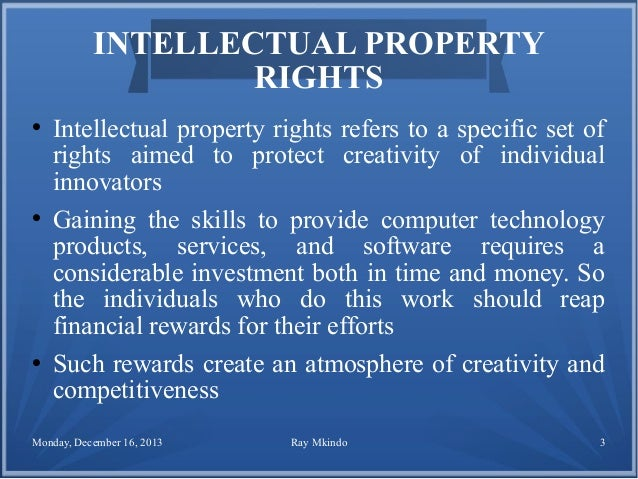 the concept and boundaries of intellectual property Intellectual property basic concepts and principles by charles f carletta, jd secretary of the institute and general counsel rensselaer polytechnic institute.