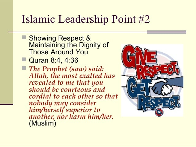 islamic leadership Only islamic leadership can solve the problems of humanity difference between islamic and secular leadership secular leadership's target is self-establishment islamic leadership's target is jannatul firdaws (highest position in paradise) secular leaderships work for the respect of people.